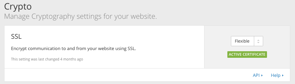 CloudFlare Screen Shot
